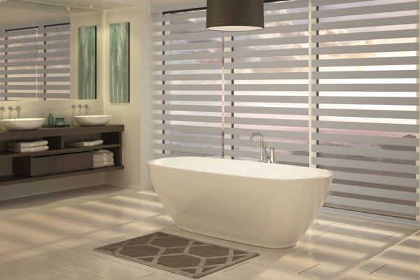 Custom Banded Shades