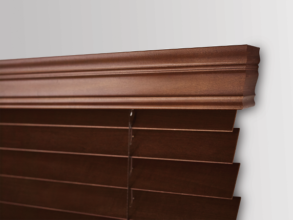 Traditional Chestnut Valance