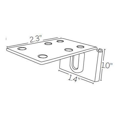 Extension Bracket Base
