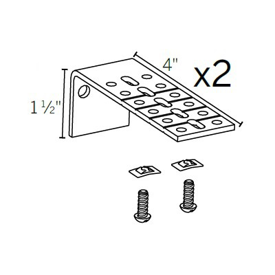 Motorized Extension Bracket 2 PK