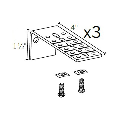 Motorized Extension Bracket 3 PK