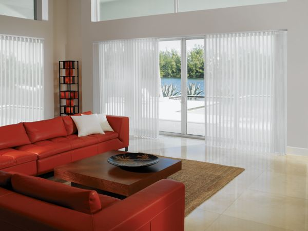Custom Soft Vertical Shades