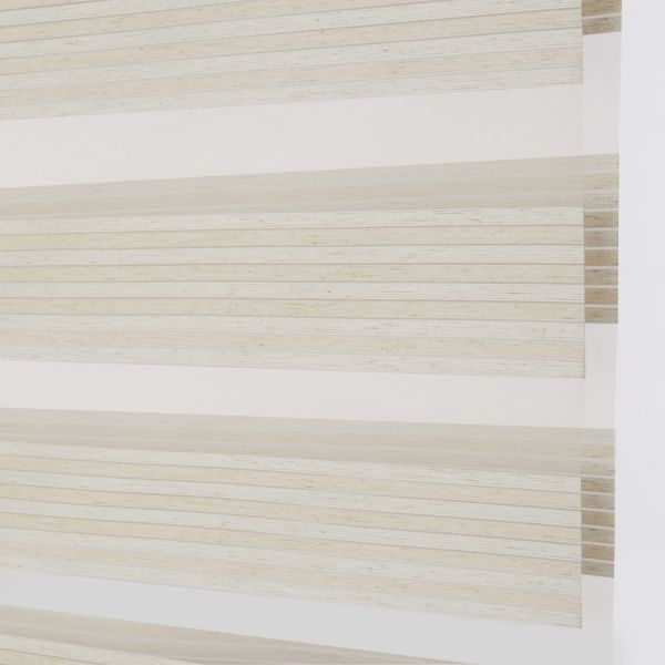 Banded Shades - Uptown Light Filtering - Birch 4A1WH036
