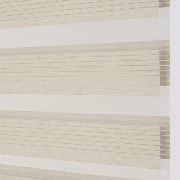 Banded Shades - Uptown Light Filtering - Oatmeal 4A1WH037