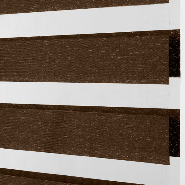 Banded Shades - Terra Light Filtering Brown 4C1BR026