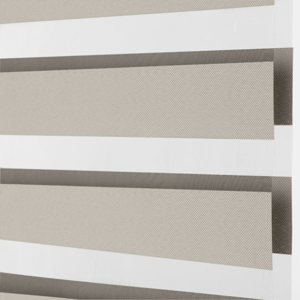 Banded Shades - Terra Light Filtering - Ivory 4C1WH039
