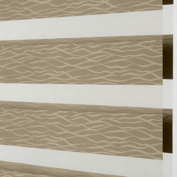 Banded Shades - Jubilee Light Filtering Taupe 4D1BE012