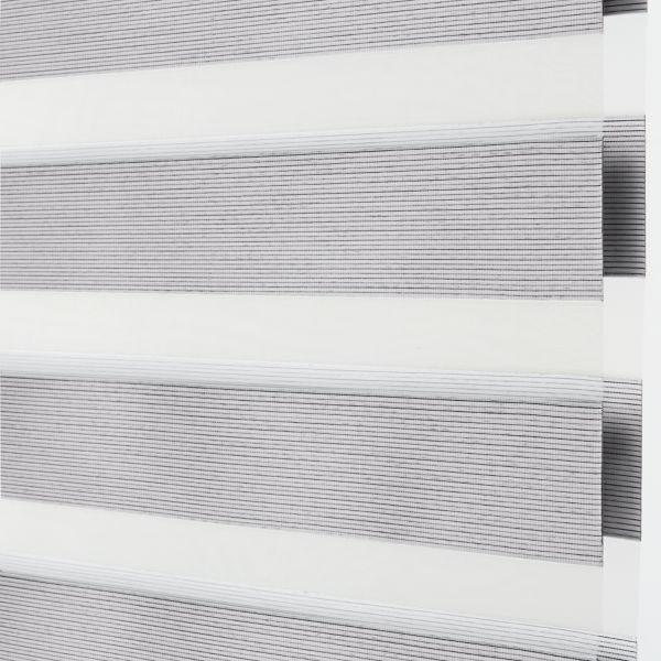 Banded Shades - Brilliance Room Darkening - White 4E2WH042