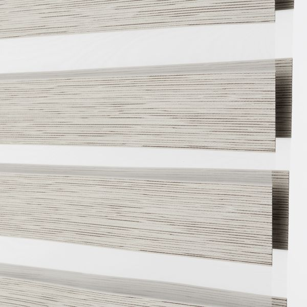 Banded Shades - Tranquil Room Darkening Ivory 4F2WH043