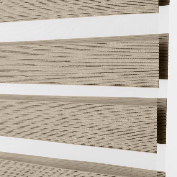 Banded Shades - Tranquil Room Darkening - Coconut 4F2WH044