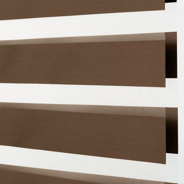 Banded Shades - Bliss Light Filtering Brown 4H1BR030