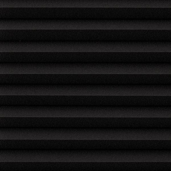 Cellular Shades - Designer Textures Room Darkening - Black 19870147
