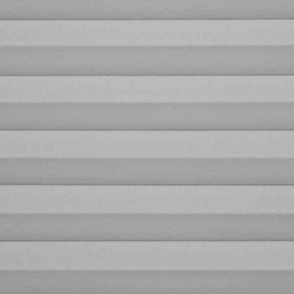 Cellular Shades - Designer Textures Room Darkening - Light Grey 19870343