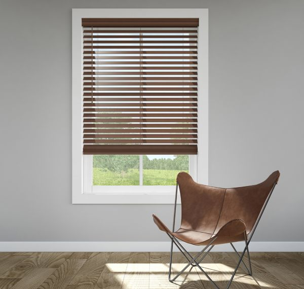Trim+Go™ 2.5 in. Faux Wood Blinds