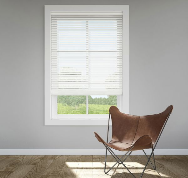 Trim+Go™ 2 in. Faux Wood Blinds