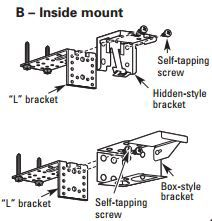 How To Install Metal Extension Brackets