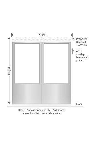 Patio Doors Measuring Instructions