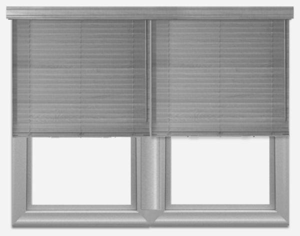 Multiple blinds one bottom rail