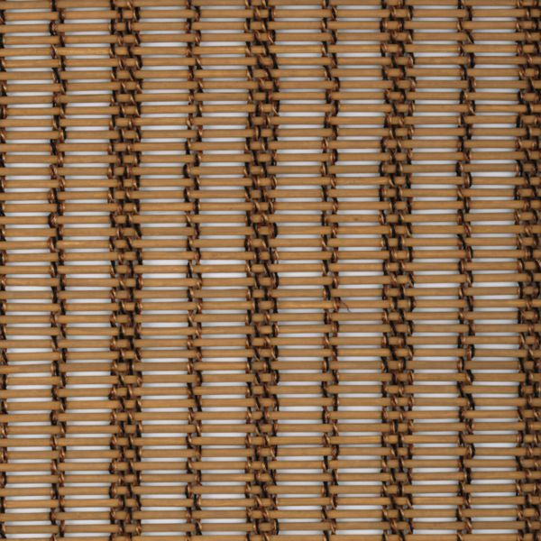 Panel Track Shades - Braided Rattan Tan