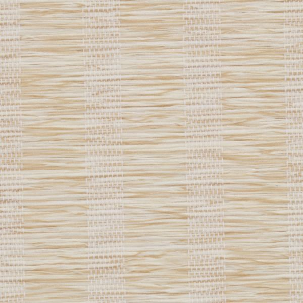 Roman Shades - Lemongrass Stripe Light Filtering Cream 10133336