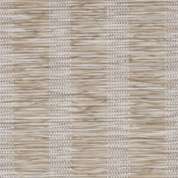 Roman Shades - Lemongrass Stripe Light Filtering Champagne 10133337