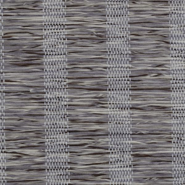 Roman Shades - Lemongrass Stripe Light Filtering Charcoal 10133340