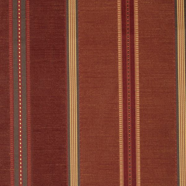 Roman Shades - Classic Stripe Room Darkening Port 12133302