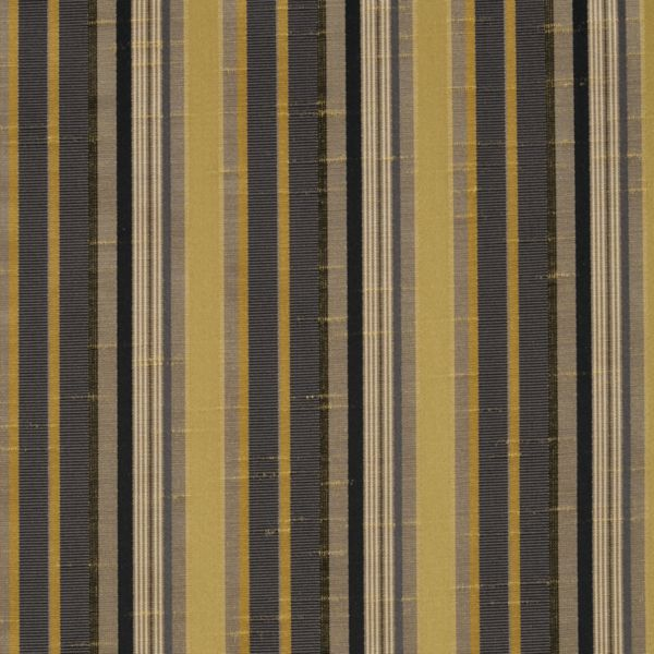Roman Shades - Narrow Stripe Room Darkening Flagstone 12133306