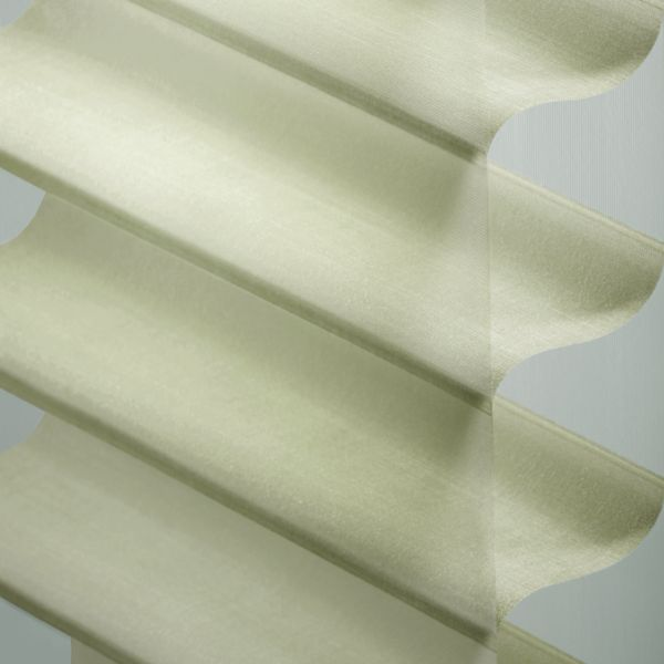 "Sheer Shadings - 3"" Hillcrest Light Filtering Fresh Green 13LGE225"
