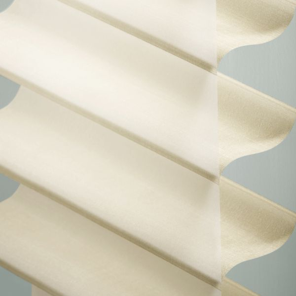 "Sheer Shadings - 3"" Hillcrest Light Filtering Custard 13LNU205"