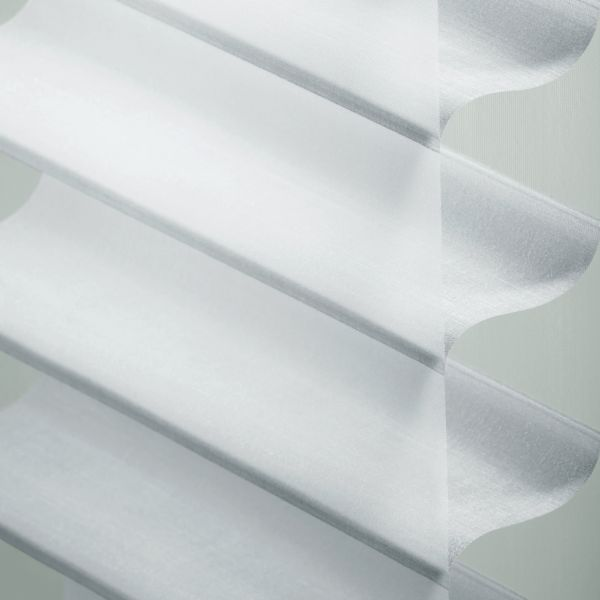 "Sheer Shadings - 3"" Hillcrest Light Filtering Brilliant White 13LWH210"