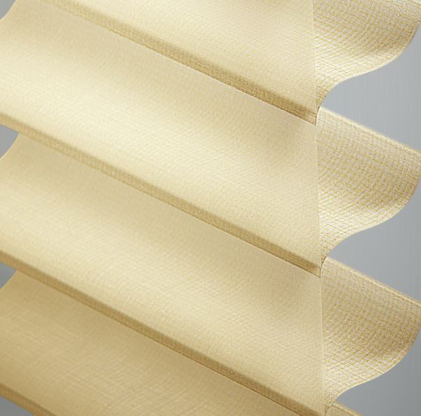 "Sheer Shadings - 3"" Stonebrooke Light Filtering Custard 13SNU262"