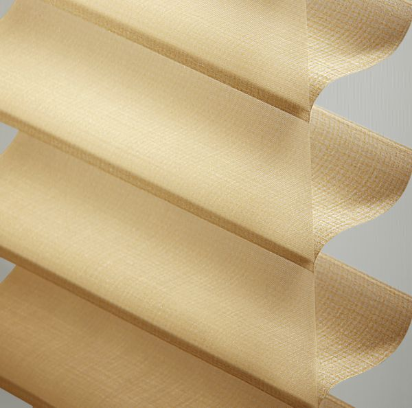 "Sheer Shadings - 3"" Stonebrooke Light Filtering Antique Gold 13SNU265"