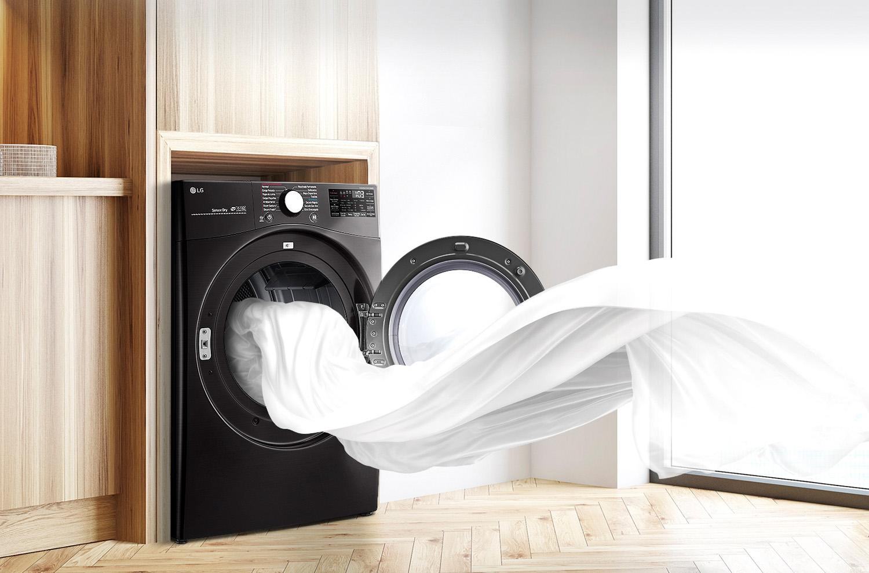 Gran Capacidad para secar más prendas en menos cargas.