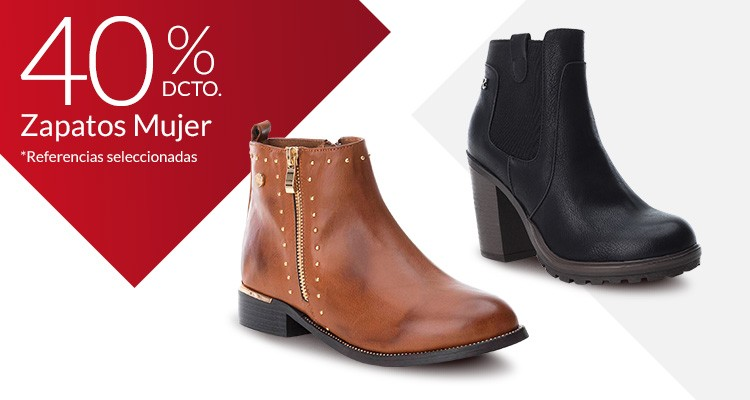 40% Zapatos mujer
