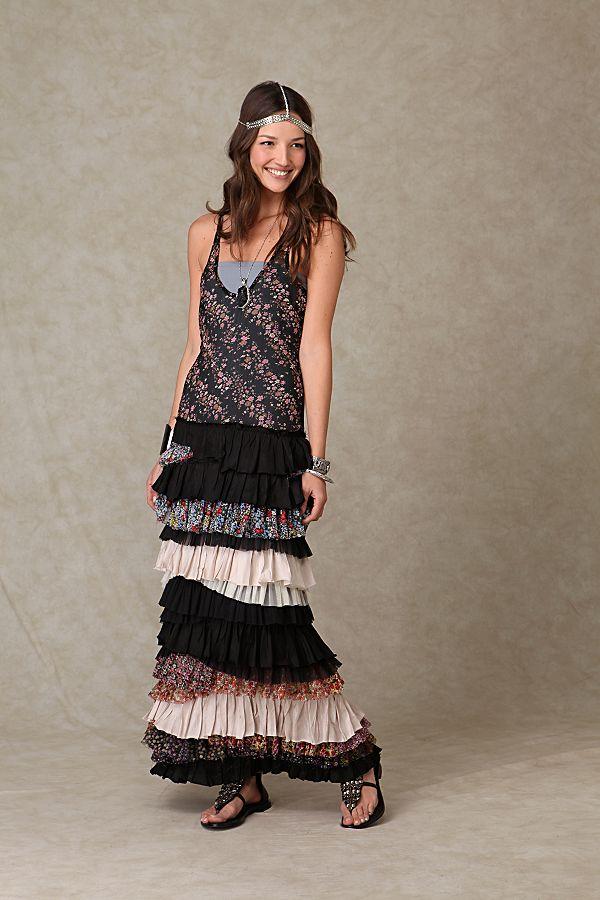 819c4ab93d6a9 Ruffled Layers Dress