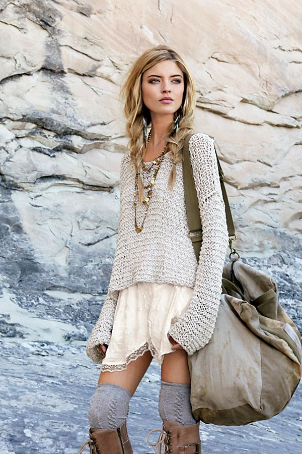 0d32697fa7 Tape Yarn Beach Sweater | Free People UK