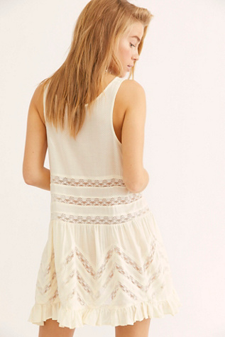 Voile and Lace Trapeze Slip | Free People