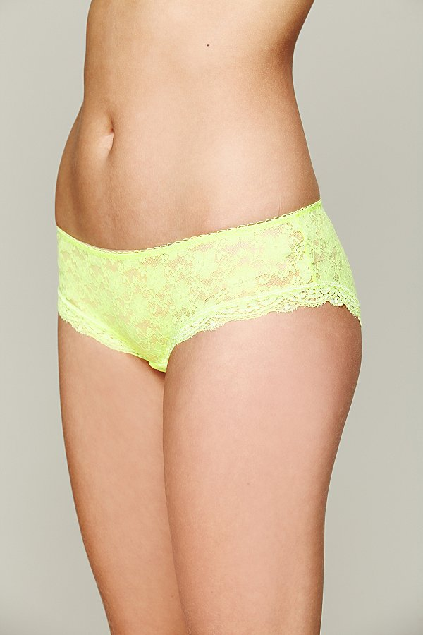 Slide View 1: Lacey Basic Hipster Brief