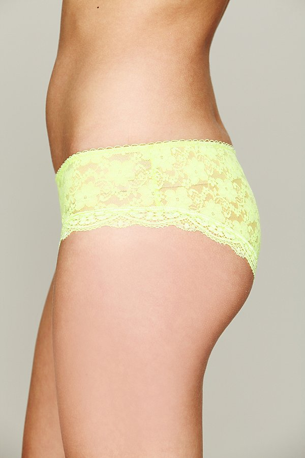 Slide View 3: Lacey Basic Hipster Brief