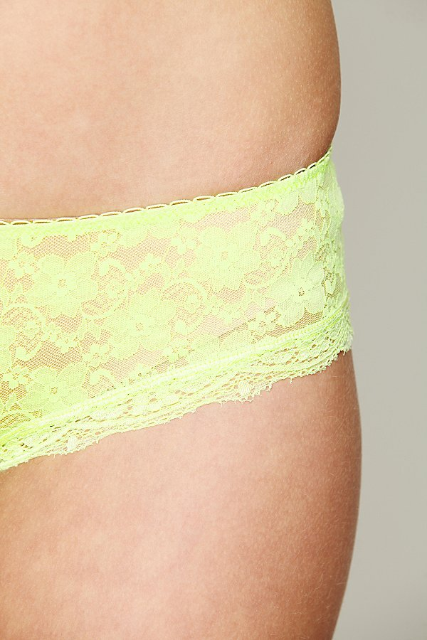 Slide View 4: Lacey Basic Hipster Brief