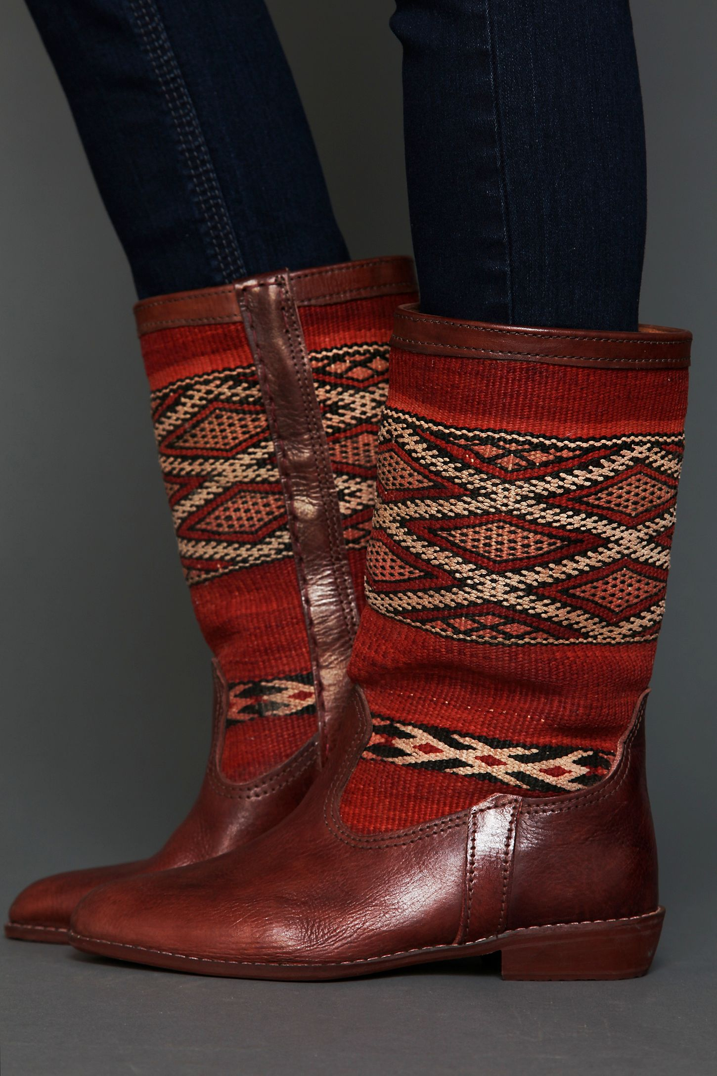 f226269503d Moroccan Kilim Boot