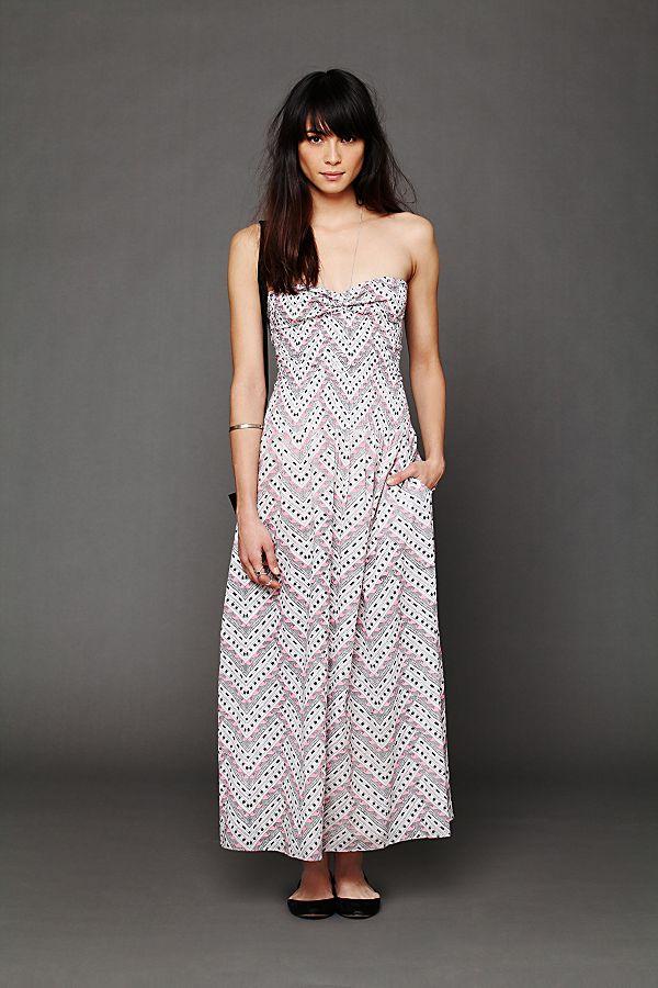 dc58a41de306e Smocked Maxi Dress