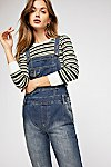 Thumbnail View 3: Washed Denim Dungarees