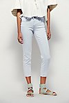 Thumbnail View 2: Rolled Crop Skinny Jeans