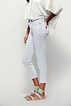 Thumbnail View 4: Rolled Crop Skinny Jeans