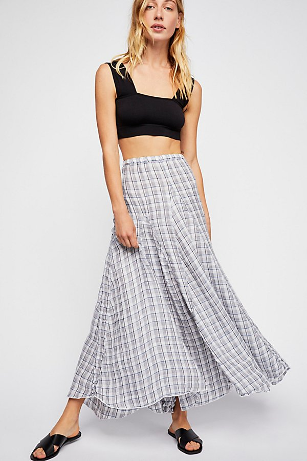 Slide View 1: Lily Linen Maxi Skirt