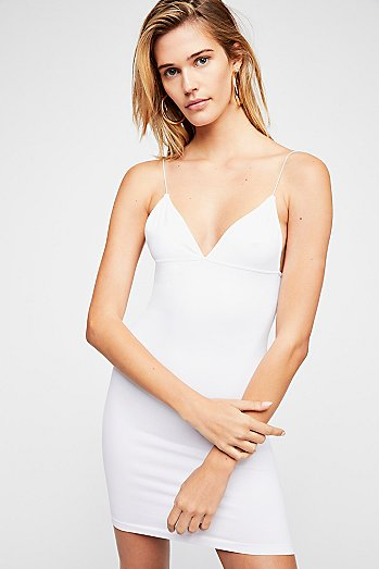 Skinny Strap Bodycon Dress