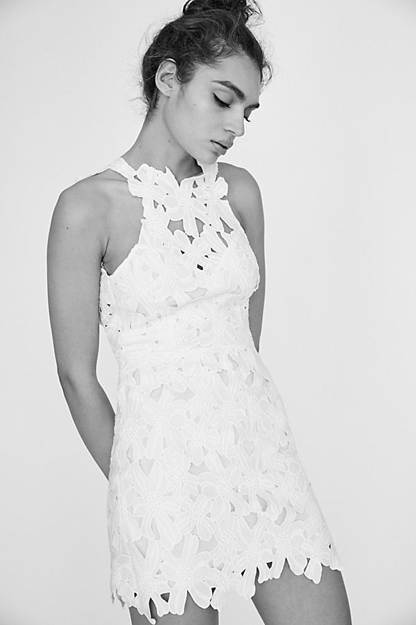 1f41b3aadd Slide View 2  Jessa Lace Mini Dress