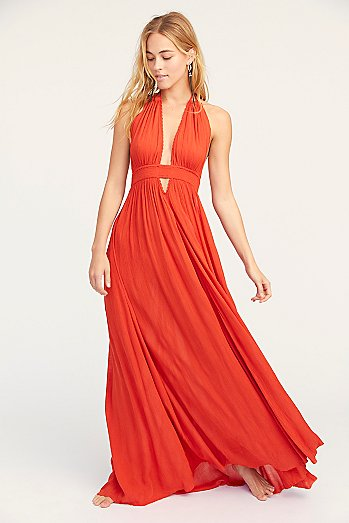Look Into the Sun Maxi Dress